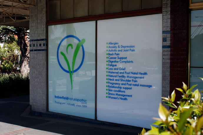 Polypropylene Posters Face Mounted Window Display Printing