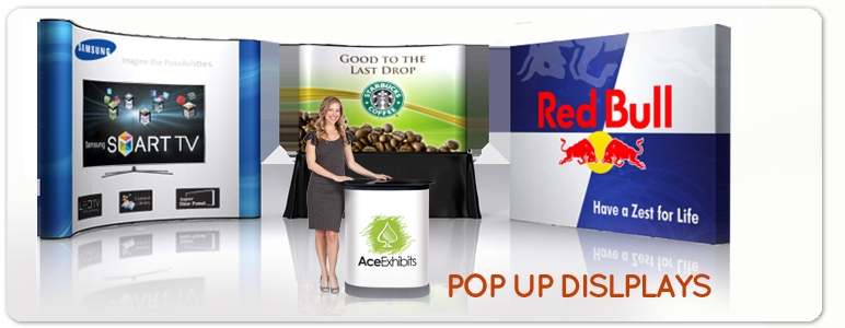 Fabric Exhibition Stand Up Comedy : Banner stands