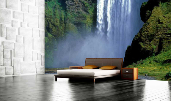 Canvas Cabretta Wallpaper Wallpaper Printing