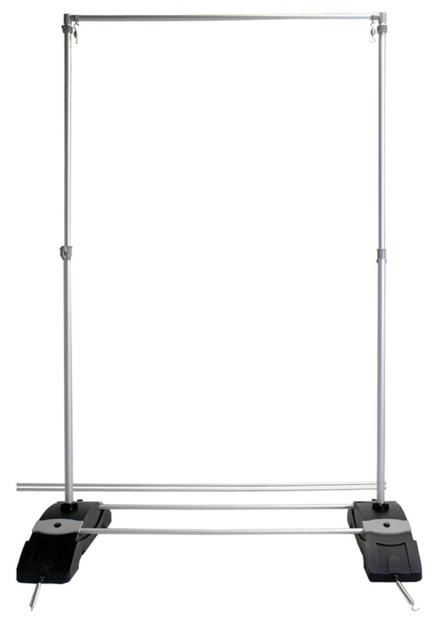 Outdoor Telescopic Banner Stand 8x8