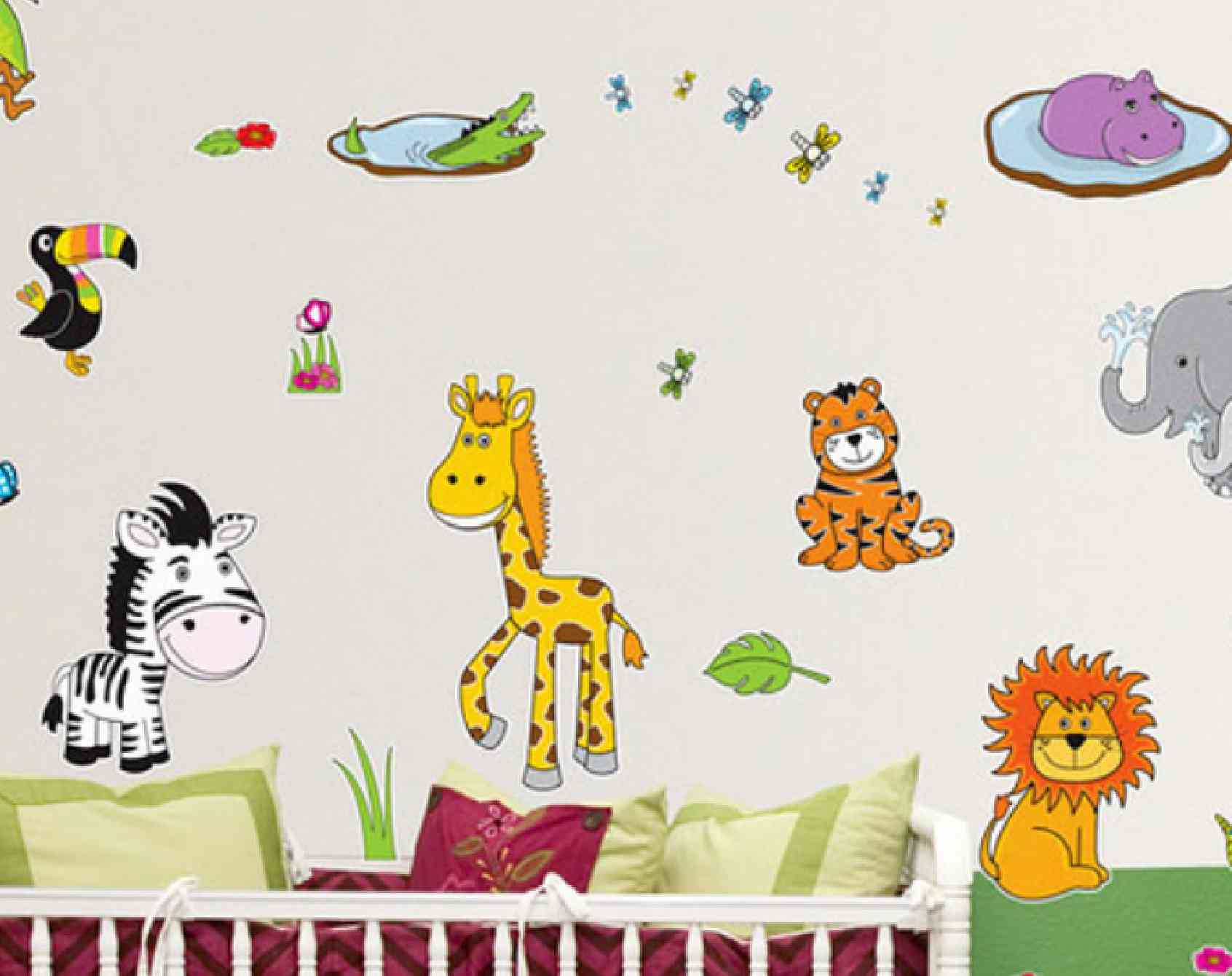 Cutout Wall Decals Peel  Stick Wallpaper Printing - Somewhat about wall stickers